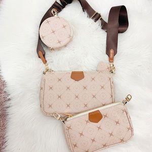 Handbags - 3 piece purse brand new never been worn!